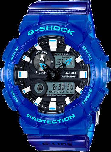 Casio G-Shock Analog-Digital GAX100MSA-2A