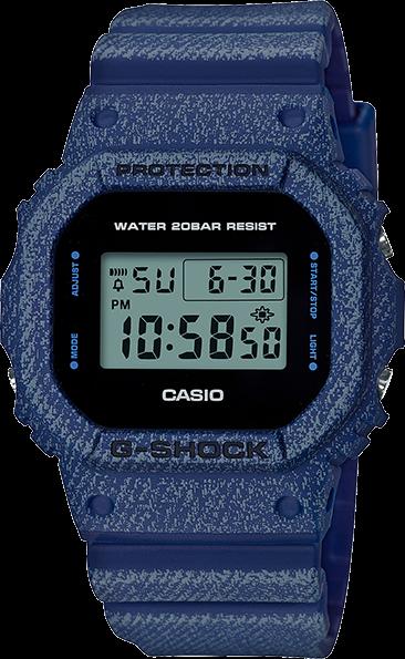 Casio G-Shock Denim Series DW5600DE-2