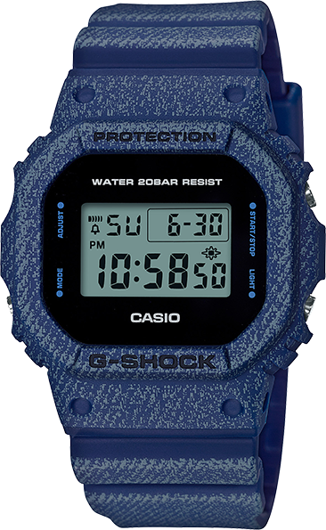 Casio G-Shock Denim Series DW5600DE-2