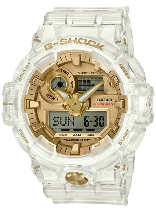 Casio G-Shock Glacier Gold GA735E-7A