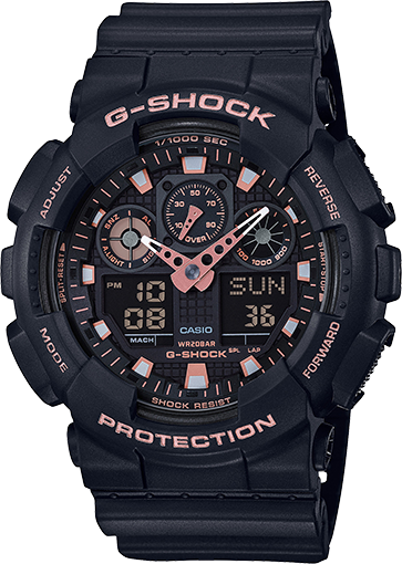 G-Shock Analog-Digital GA100GBX-1A4