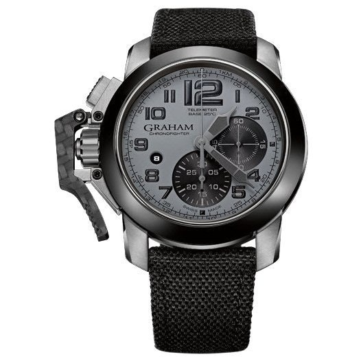 Graham Chronofighter Oversize 2CCAC.S01A.T12S