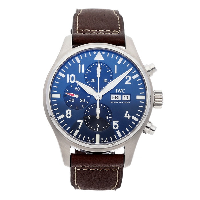"IWC Pilot's Watch Chronograph ""Le Petit Prince"" IW3777-14"