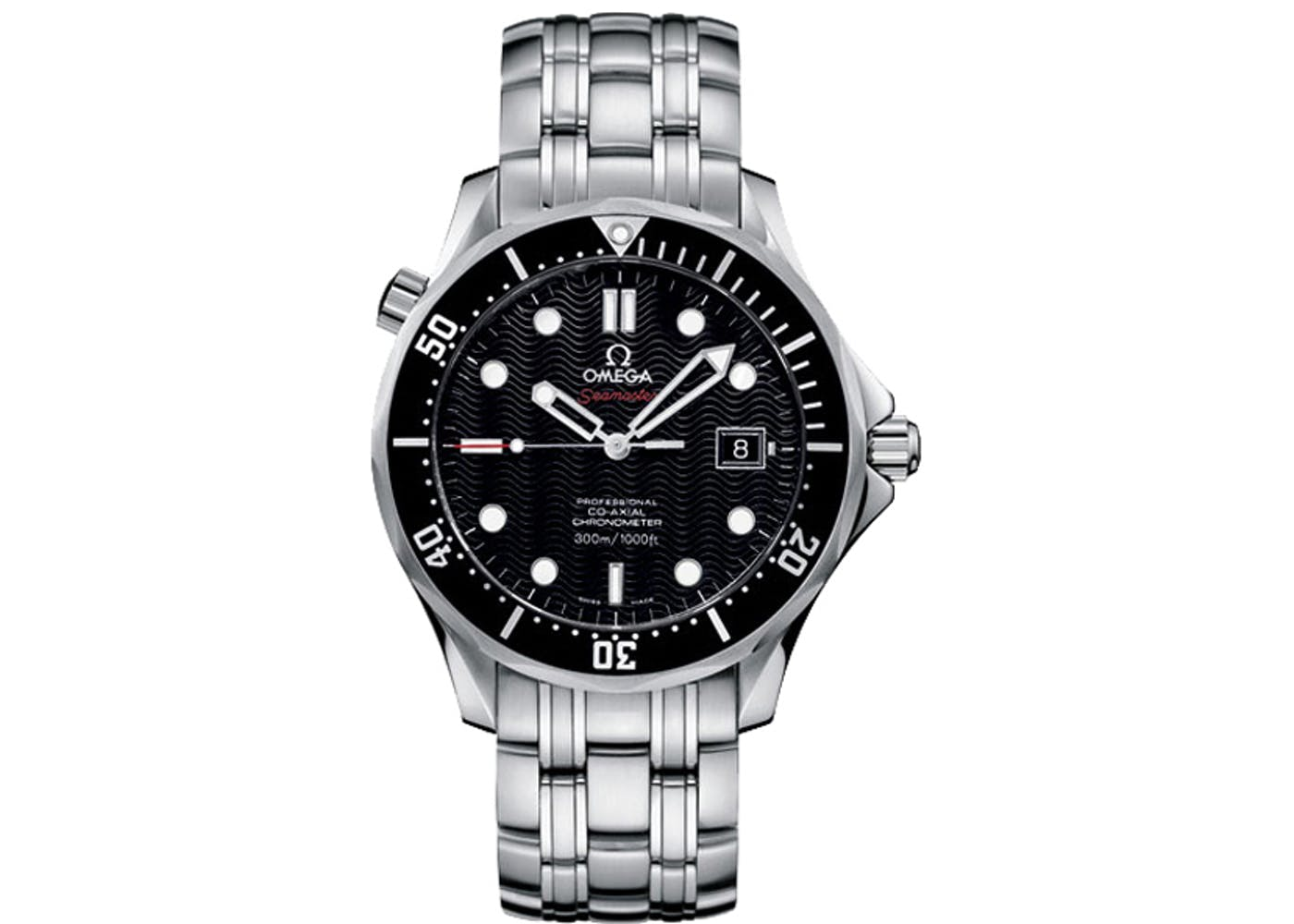 Omega Seamaster James Bond 21230412001002 Black