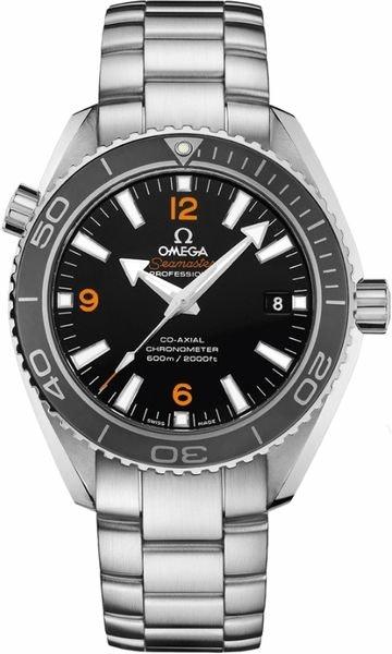 Omega Seamaster Planet Ocean Grey Bezel and Black Dial 232.30.42.21.01.003