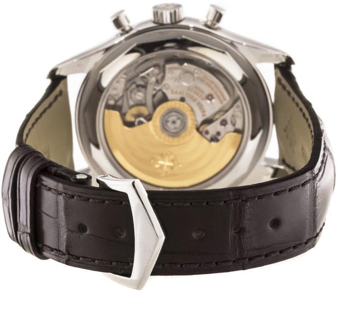 Patek Philippe Annual Calendar Chronograph Chevron Buckle 5960P