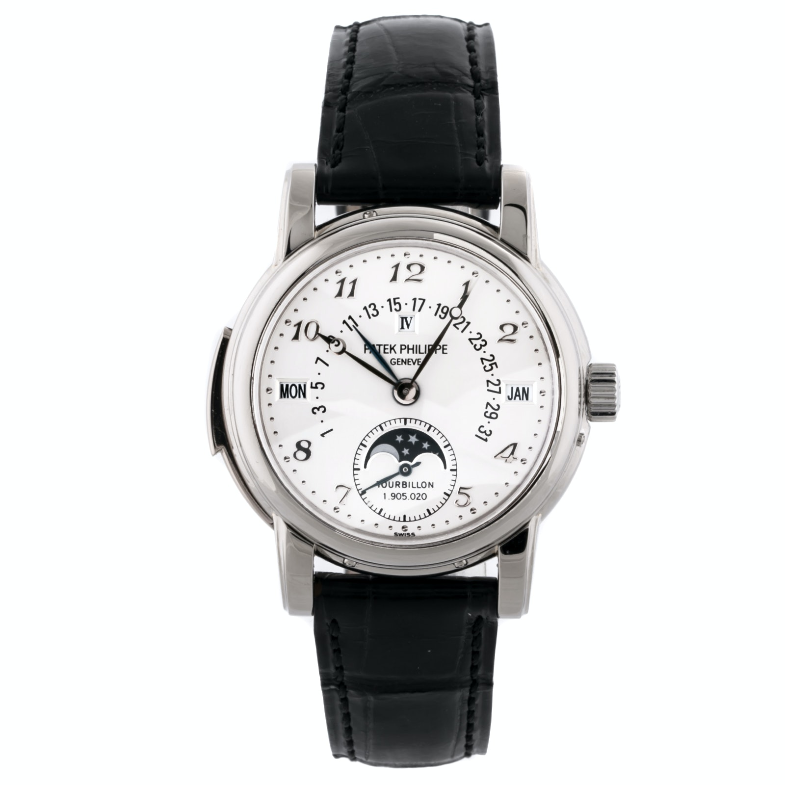 Patek Philippe Grand Complications Minute Repeater Perpetual Calendar White Dial 5016G