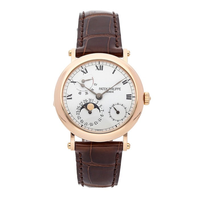 Patek Philippe Grand Complications Moon Phase Power Reserve 5054R-001