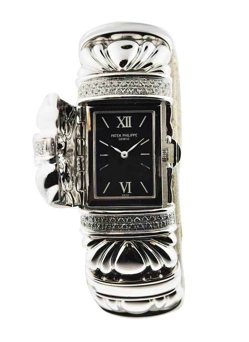 """Patek Philippe Ladies Bracelet """"Concealed"""" 4955/10G-001"""