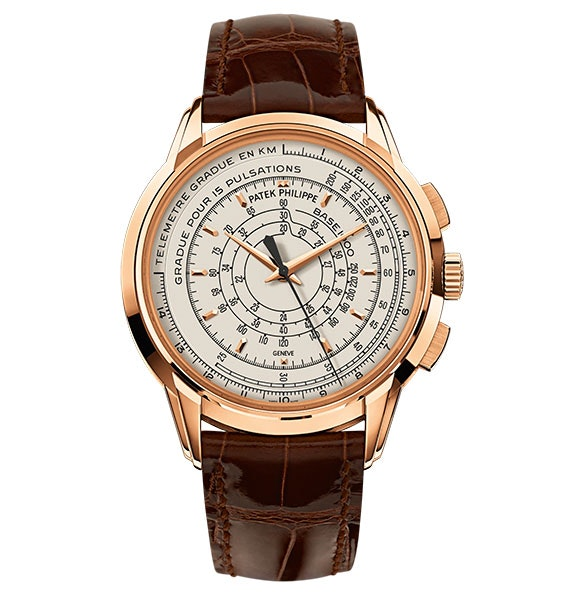 Patek Philippe Multi-Scale Chronograph 175th Anniversary Rose Gold 5975R-001