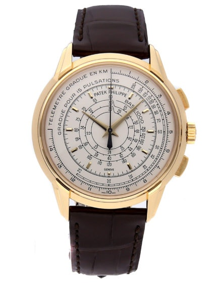 Patek Philippe Multi-Scale Chronograph 175th Anniversary Yellow Gold 5975J-001