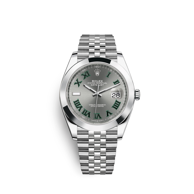 Rolex Datejust 41 Roman Dial Jubilee Bracelet 126300