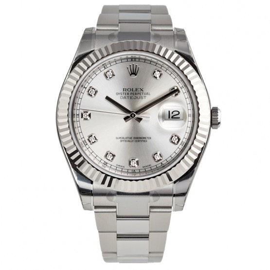 Rolex Datejust Diamond Dial 116334