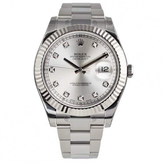 Rolex Datejust Diamond Dial 116334