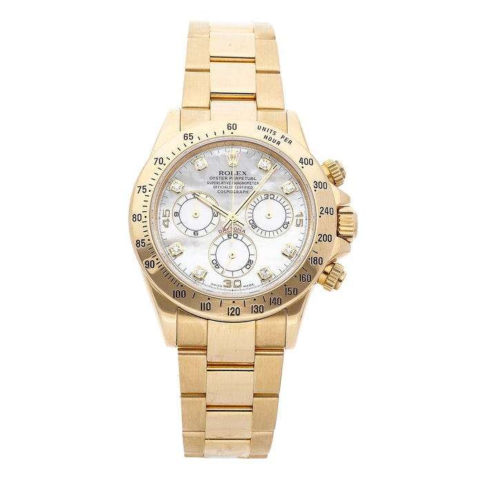 Rolex Daytona Mother of Pearl 116528