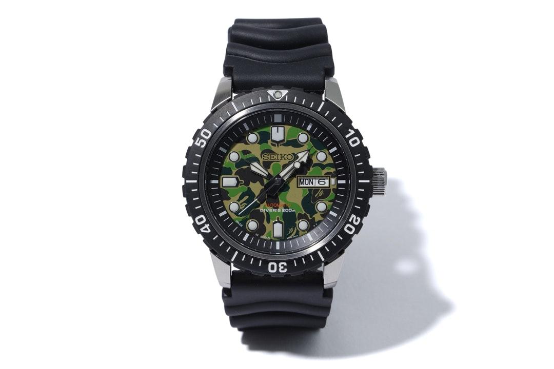 Seiko x BAPE Mechanical Divers Watch SZEL003