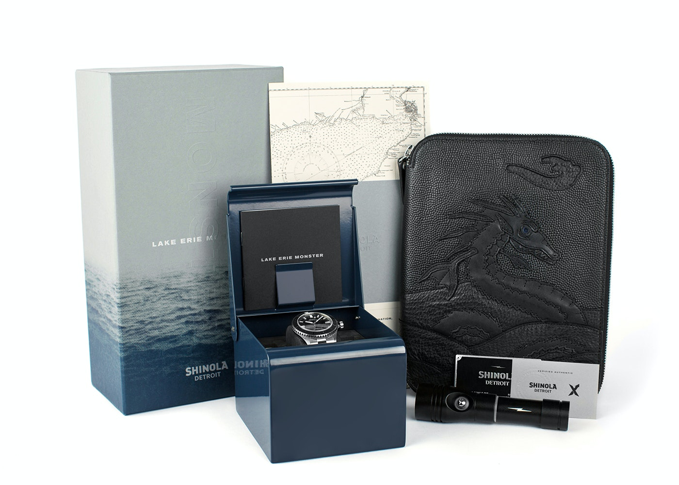 Shinola Limited Edition 000/500 Lake Erie Monster IPO